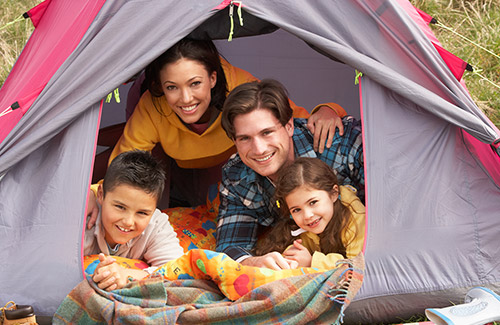 Grangeways Family camping